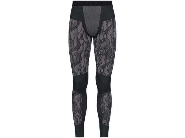 Odlo Blackcomb Pantalones Hombre, black/odlo steel grey/silver